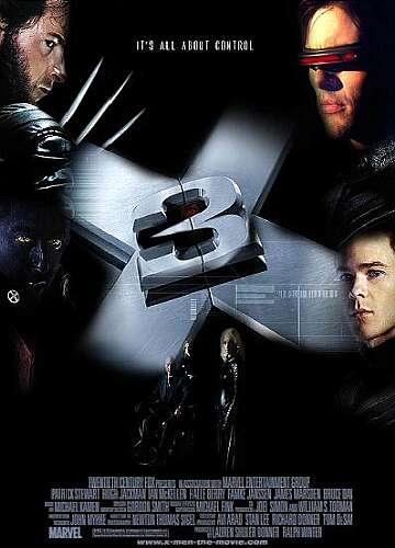 X men 3 - Hugh Jackman Film Posterleri